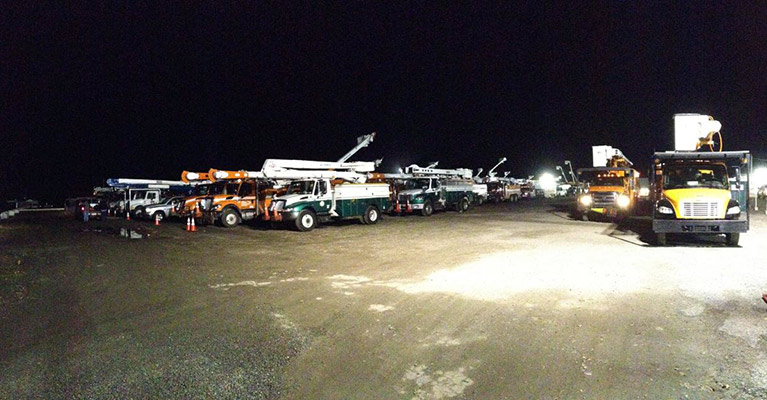 Mutual Aid Staging Area